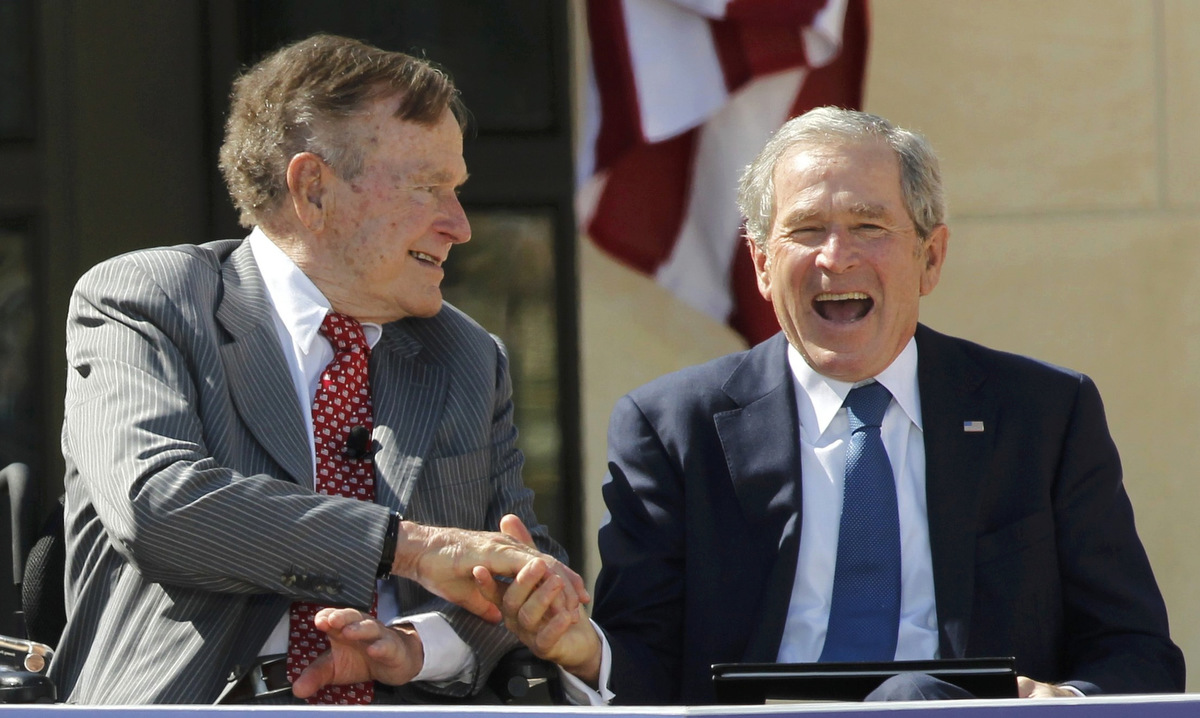 george w bush presidential center is dedicated in dallas