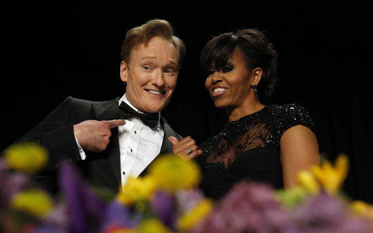 Scenes from the 2013 White House Correspondents' Dinner