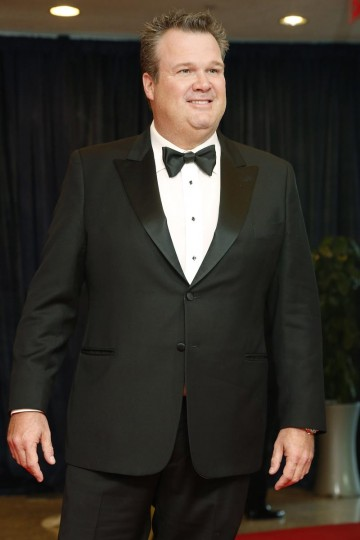 Actor and comedian Eric Stonestreet arrives on the red carpet at the annual White House Correspondents' Association dinner in Washington April 27, 2013. (Jonathan Ernst/Reuters)