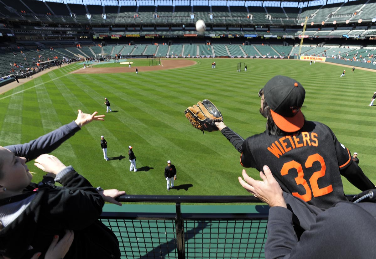 2012: Reliving the tradition of Opening Day for the Orioles