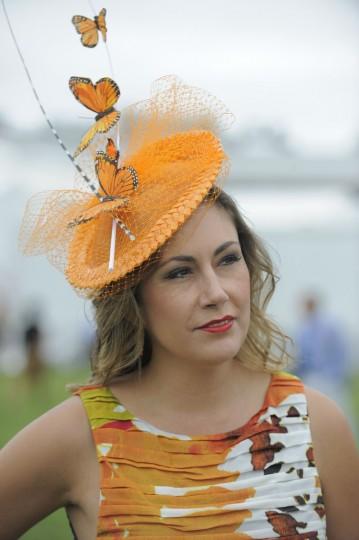 "Pilar Williams, 40, Crofton, non profit. ""Bright. In style. Fashionable."" (Lloyd Fox/The Baltimore Sun)"