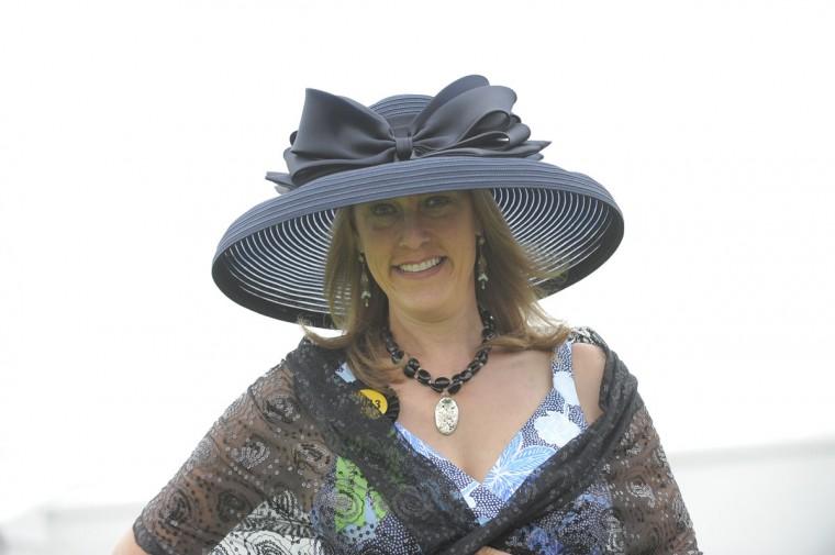 "Patti Neuman, 47, Baltimore, blogger. ""Sophisticated elegance."" (Lloyd Fox/The Baltimore Sun)"