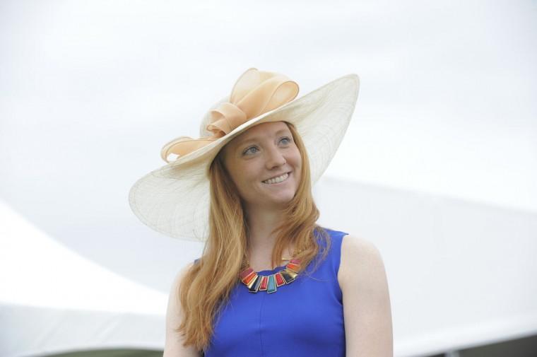 "Rebecca Dawson, 27, Baltimore, social worker. ""Elegant. Fabulous. Chic."" (Lloyd Fox/The Baltimore Sun)"