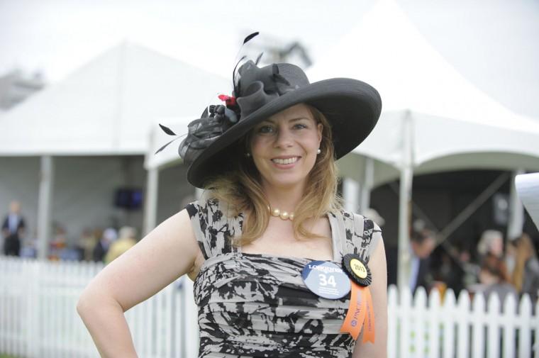 "Monyka Berrocosa, 42, Stoneleigh, business owner. ""Fun. Flirty. It's me."" (Lloyd Fox/The Baltimore Sun)"