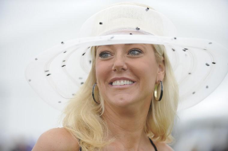 """Jennifer Brandeen, 41, Annapolis, business development. """"Borrowed from a friend."""" (Lloyd Fox/The Baltimore Sun)"""