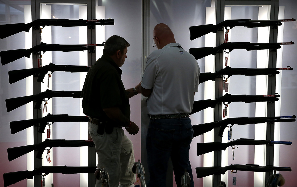 Scenes from the 2013 NRA Convention in Houston, Texas