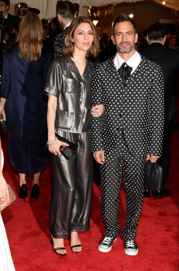 "Sofia Coppola and Marc Jacobs attend the Costume Institute Gala for the ""PUNK: Chaos to Couture"" exhibition at the Metropolitan Museum of Art on May 6, 2013 in New York City. (Dimitrios Kambouris/Getty Images)"