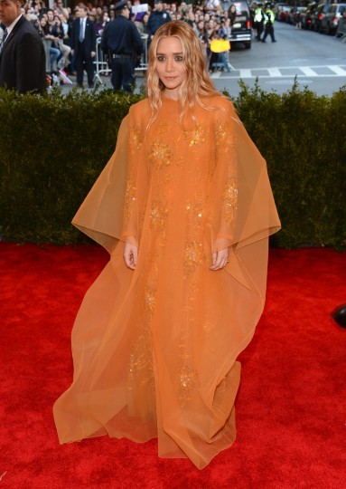 "Ashley Olsen attends the Costume Institute Gala for the ""PUNK: Chaos to Couture"" exhibition at the Metropolitan Museum of Art on May 6, 2013 in New York City. ( Larry Busacca/Getty Images)"