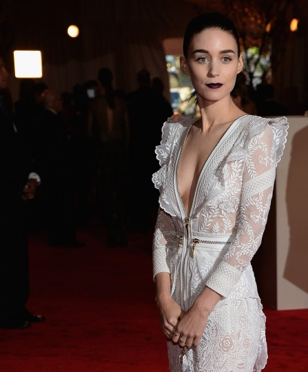 Rooney Mara attends the 2013 Costume Institute Gala - PUNK: Chaos to Couture at Metropolitan Museum of Art on May 6, 2013 in New York City. (Dimitrios Kambouris/Getty Images)