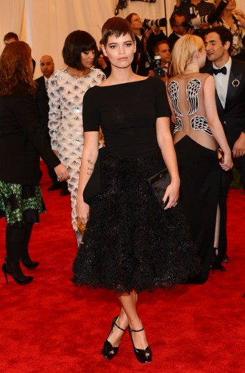"Pixie Geldof attends the Costume Institute Gala for the ""PUNK: Chaos to Couture"" exhibition at the Metropolitan Museum of Art on May 6, 2013 in New York City. (Larry Busacca/Getty Images)"