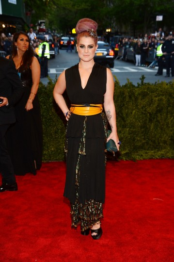 "Kelly Osbourne attends the Costume Institute Gala for the ""PUNK: Chaos to Couture"" exhibition at the Metropolitan Museum of Art on May 6, 2013 in New York City. (Larry Busacca/Getty Images)"