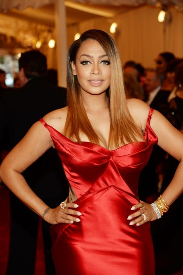 "La La Anthony attends the Costume Institute Gala for the ""PUNK: Chaos to Couture"" exhibition at the Metropolitan Museum of Art on May 6, 2013 in New York City. (Dimitrios Kambouris/Getty Images)"