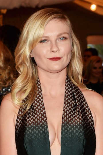 "Kirsten Dunst attends the Costume Institute Gala for the ""PUNK: Chaos to Couture"" exhibition at the Metropolitan Museum of Art on May 6, 2013 in New York City. (Dimitrios Kambouris/Getty Images)"