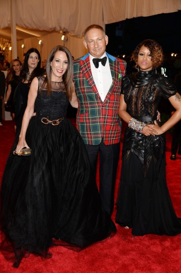 "John Demsey and Eve attend the Costume Institute Gala for the ""PUNK: Chaos to Couture"" exhibition at the Metropolitan Museum of Art on May 6, 2013 in New York City. (Dimitrios Kambouris/Getty Images)"