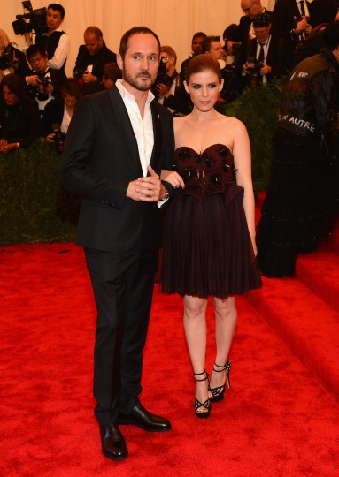 "Joseph Font and Kate Mara attend the Costume Institute Gala for the ""PUNK: Chaos to Couture"" exhibition at the Metropolitan Museum of Art on May 6, 2013 in New York City. (Larry Busacca/Getty Images)"