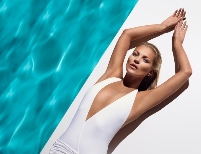 In this handout image provided by St. Tropez, St. Tropez, the iconic global self-tan brand today announces the appointment of Kate Moss as the new face and body of the brand. (St. Tropez/via Getty Images)