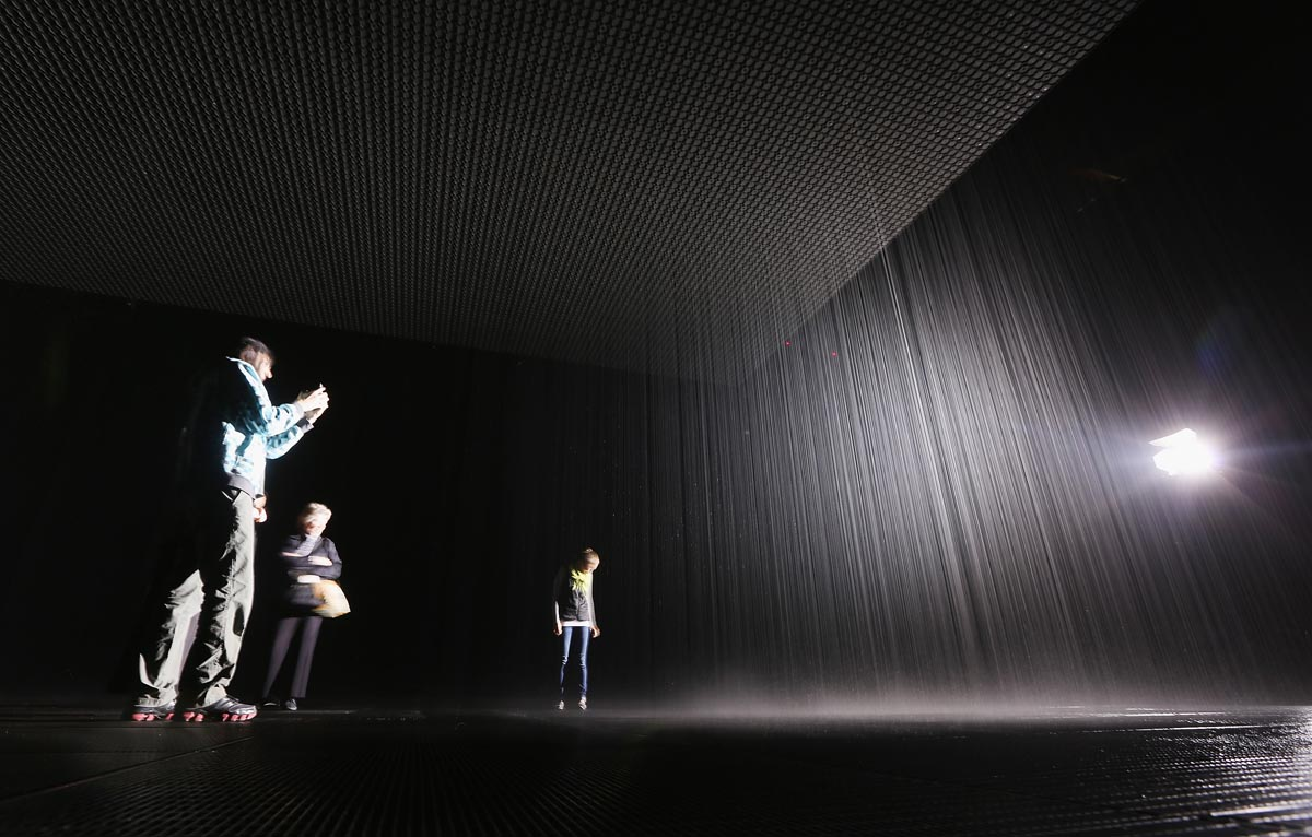 Rain Room The MoMA