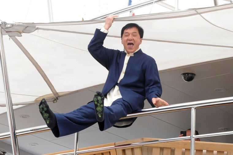 Actor Jackie Chan attends the 'Skiptrace' Photocall during the 66th Annual Cannes Film Festival at the Palais des Festivals on May 16, 2013 in Cannes, France. (Stuart C. Wilson/Getty Images)