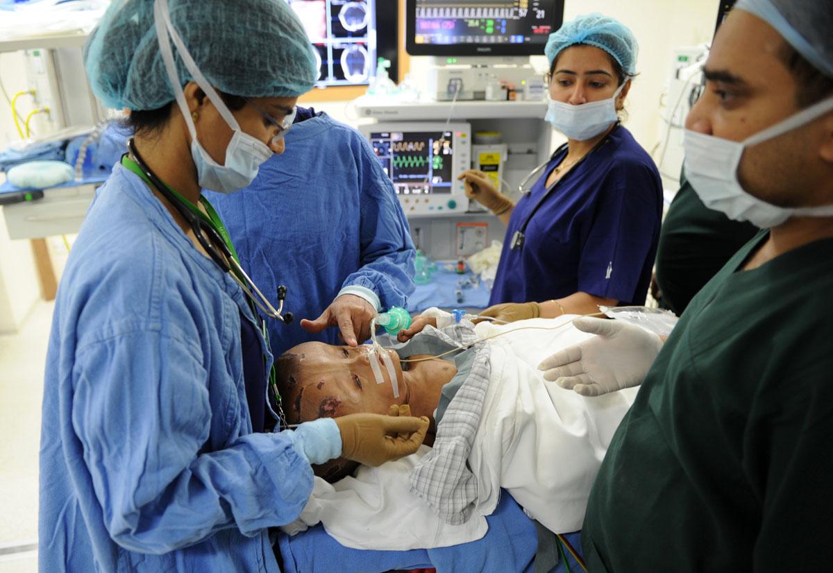 Indian girl receives life-saving surgery after donations follow AFP photos