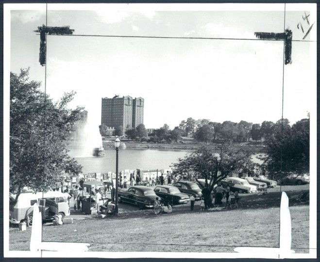June 6, 1963: Baltimore Outdoor Art Festival. (William H. Mortimer/Baltimore Sun)
