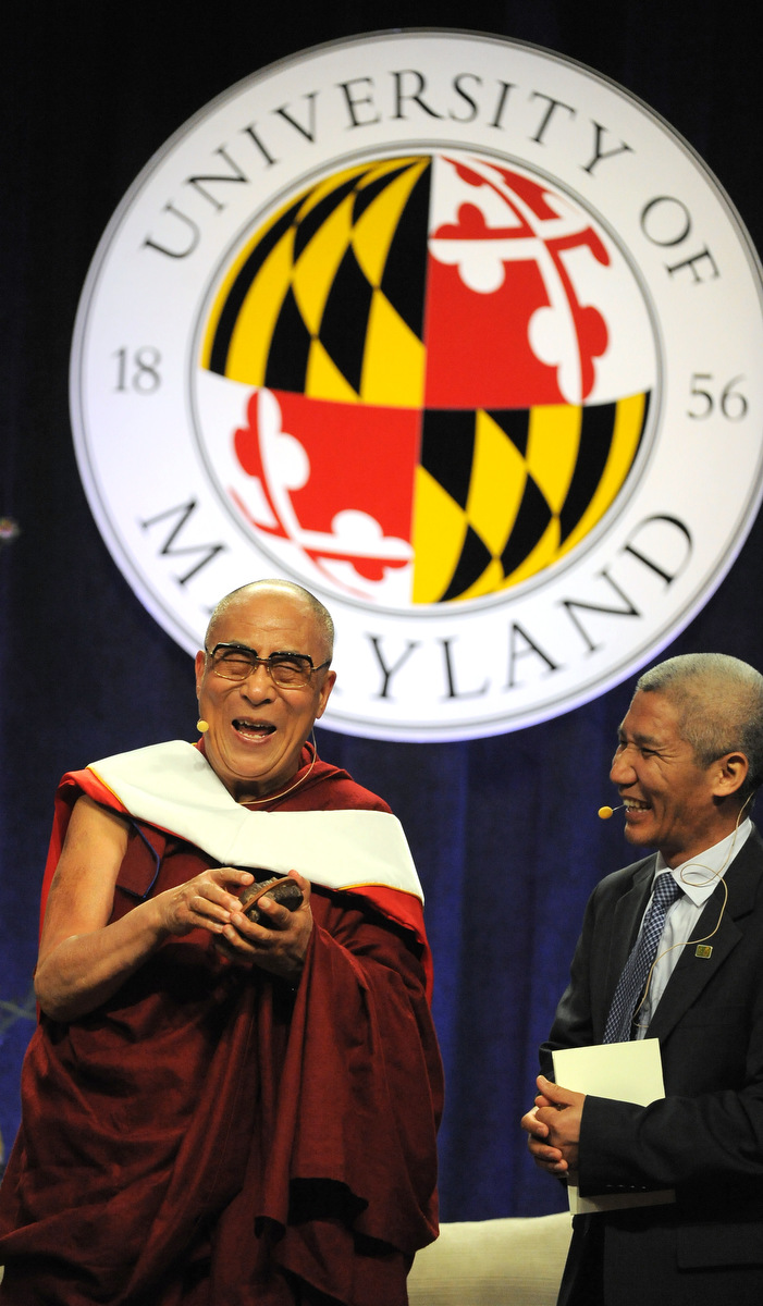 the dalai lama s the university of maryland at college park