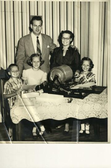 William, Mary and their three children. (Handout photo)