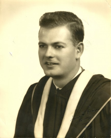 Moore graduated from Harpur College in Binghampton, N.Y. He moved to Baltimore to go to Johns Hopkins for graduate school. (Handout photo)
