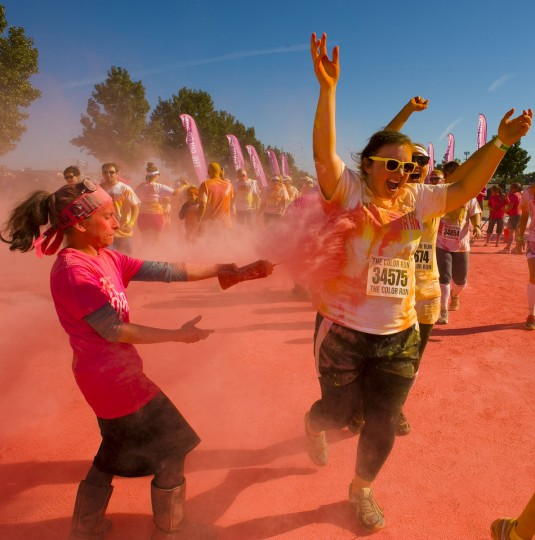 (Photo courtesy of Color Run/Michael Carr Photography)