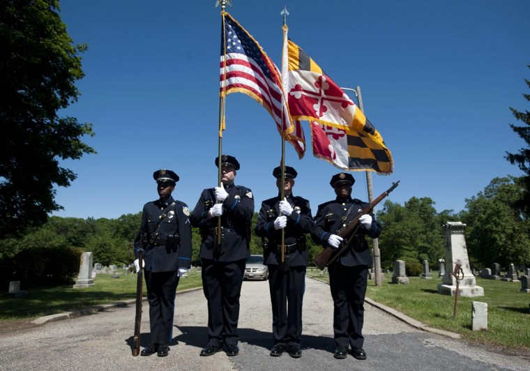 Memorial Day ceremony at Laurel's historic Ivy Hill Cemetery