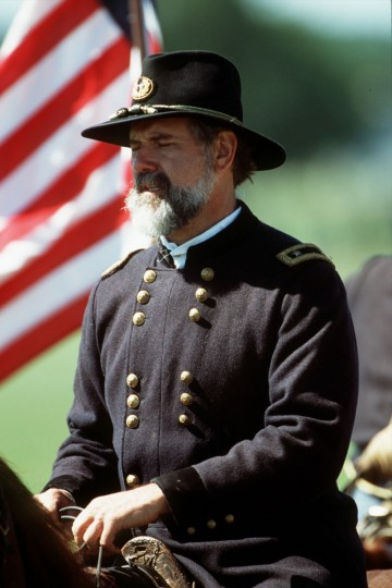 Reenactment of the Battle of Gettysburg: Actor Andy Waskie portrays Union Maj. Gen. George G. Meade, commander of the Army of the Potomac, during a reenactment in 2002. (Robert London / Special to The Baltimore Sun)
