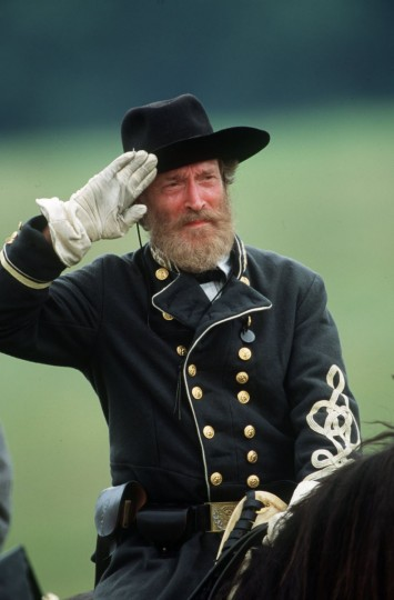 Reenactment of the Battle of Gettysburg: Actor Patrick Gorman portrays Confederate Maj. Gen. John Bell Hood during a reenactment in 2003. (Robert London / Special to The Baltimore Sun)