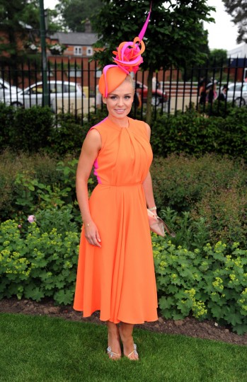 Katherine Jenkins attends Day 1 of Royal Ascot at Ascot Racecourse on June 18, 2013 in Ascot, England. (Eamonn M. McCormack/Getty Images)