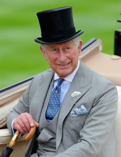 Prince Charles, Prince Of Wales attends day one of Royal Ascot at Ascot Racecourse on June 18, 2013 in Ascot, England. (Stuart C. Wilson/Getty Images)