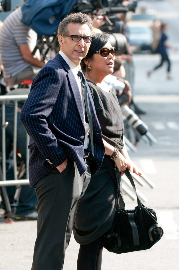 Actor John Turturro attends the funeral for actor James Gandolfini at The Cathedral Church of St. John the Divine on June 27, 2013 in New York City. (D Dipasupil/Getty Images)