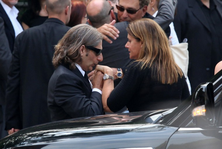 Michael Imperioli attends the funeral of actor James Gandolfini at The Cathedral Church of St. John the Divine on June 27, 2013 in New York City. Gandolfini passed away on June 19, 2013 while vacationing in Rome, Italy. (Rob Kim/Getty Images)