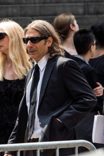 Actor Michael Imperioli leaves after attending the funeral for Actor James Gandolfini at The Cathedral Church of St. John the Divine on June 27, 2013 in New York City. Gandolfini passed away on June 19, 2013 while vacationing in Rome, Italy. (Andrew Burton/Getty Images)