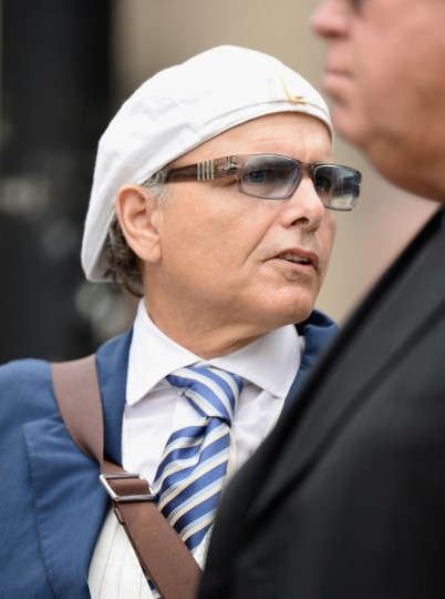 Actor Joe Pantoliano attends the funeral for Actor James Gandolfini at The Cathedral Church of St. John the Divine on June 27, 2013 in New York City. (Mike Coppola/Getty Images)