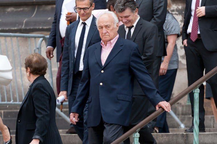 Actor Jerry Adler attends the funeral for actor James Gandolfini at The Cathedral Church of St. John the Divine on June 27, 2013 in New York City. Gandolfini passed away on June 19, 2013 while vacationing in Rome, Italy. (D Dipasupil/Getty Images)