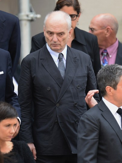 Television writer and producer David Chase attends the funeral for Actor James Gandolfini at The Cathedral Church of St. John the Divine on June 27, 2013 in New York City. Gandolfini passed away on June 19, 2013 while vacationing in Rome, Italy. (Mike Coppola/Getty Images)