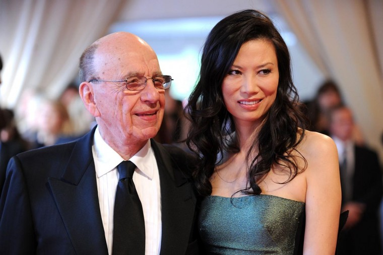 According to reports June 13, 2013, Chairman and CEO of News Corporation Rupert Murdoch has filed for divorce from his wife Wendi Deng. In this May 2010 photo, Murdoch and Deng attend the Costume Institute Gala Benefit at The Metropolitan Museum in New York City. (Stephen Lovekin/Getty Images)