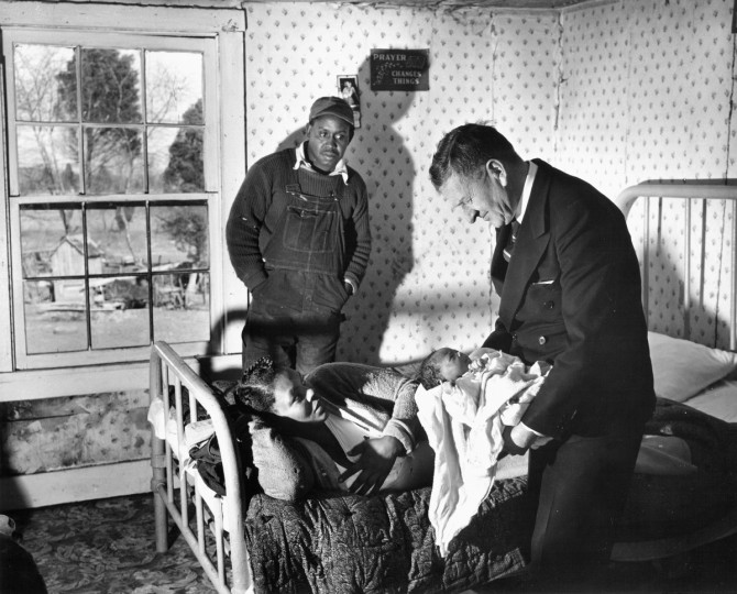 Country Doctor, 1952. (Hans Marx/Baltimore Sun)