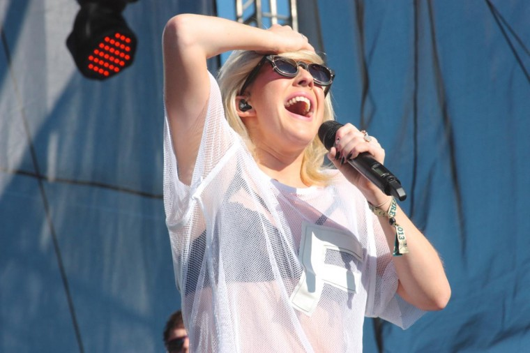 Ellie Goulding performed June 21, 2013 at the Firefly Music Festival in Dover, Delaware. (Credit: Kaitlin Newman for The Baltimore Sun)