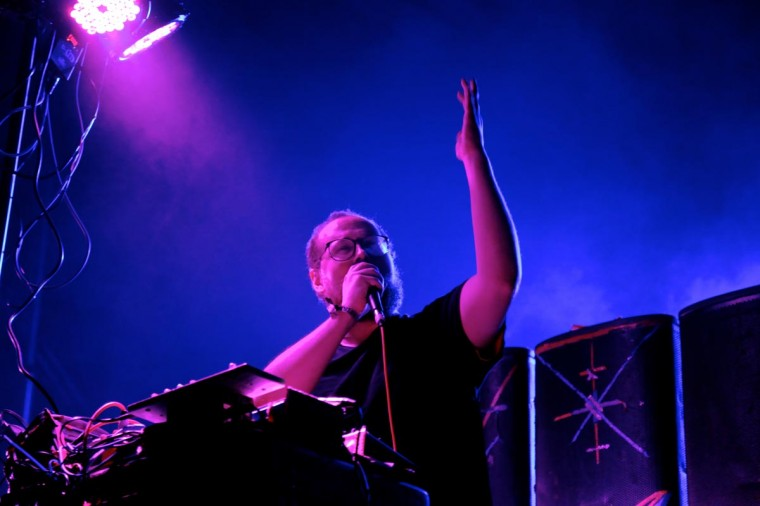 Local Baltimore musician Dan Deacon performed June 21, 2013 at the Firefly Music Festival in Dover, Delaware. (Credit: Kaitlin Newman for The Baltimore Sun)
