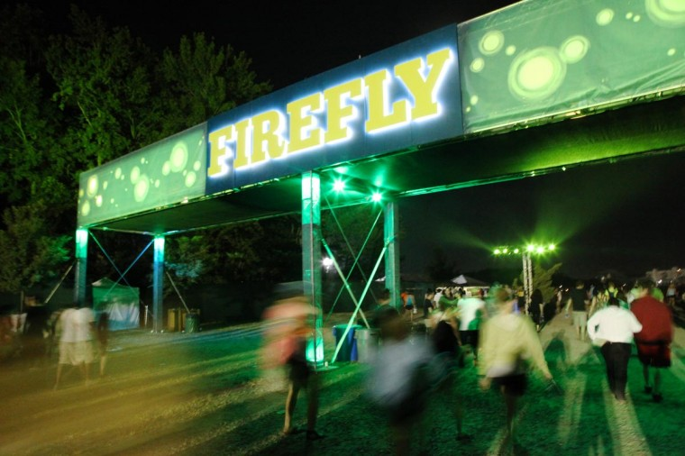Concert goers attended the 2013 Firefly Music Festival in Dover, Delaware. (Credit: Kaitlin Newman for The Baltimore Sun)