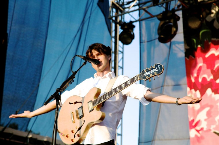 Vampire Weekend performed June 23, 2013 at the Firefly Music Festival in Dover, Delaware. (Credit: Kaitlin Newman for The Baltimore Sun)