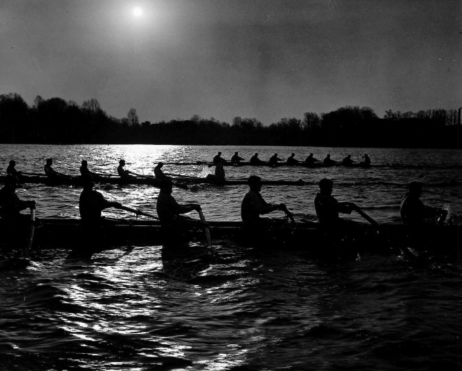 Naval Academy Rowing Team, 1954. (Hans Marx/Baltimore Sun)
