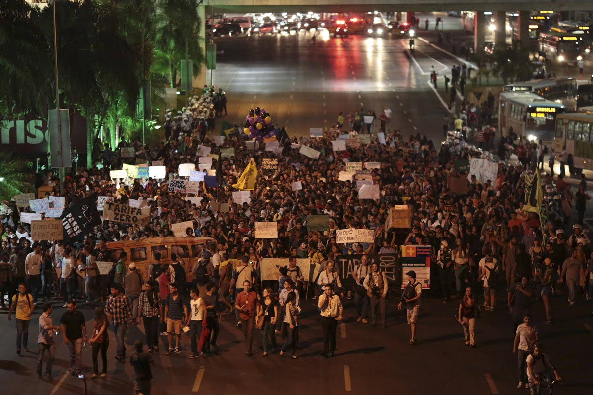Unrest, protests expected to continue in Brazil