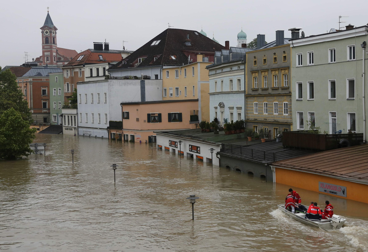 Central Europe floods after a week of heavy rain