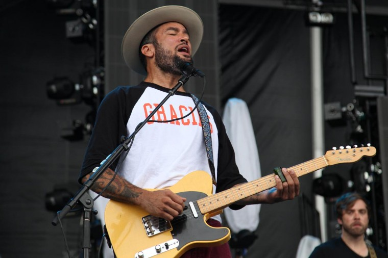 Ben Harper performed June 23, 2013 at the Firefly Music Festival 2013 in Dover, Delaware. (Credit: Andrew Windham for The Baltimore Sun)