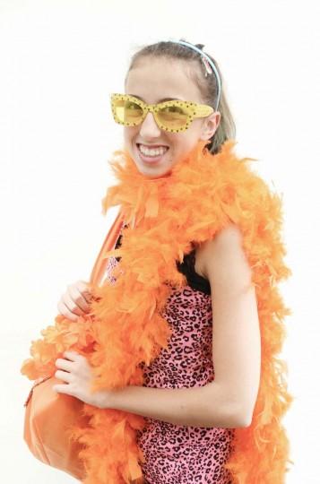 Honfest — June 8, 2013: Keana Schrag, 13, of New Berlin, NJ, showed off her specs at Honfest. (J.M. Giordano for The Baltimore Sun)
